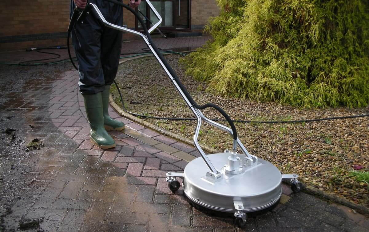 Greener-Ways offer high quality, Whirl-A-Way pressure washing services.